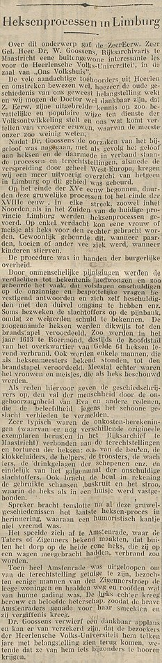 Limburgsch Dagblad vol 011 no 300 Heksenprocessen in Limburg.jpg