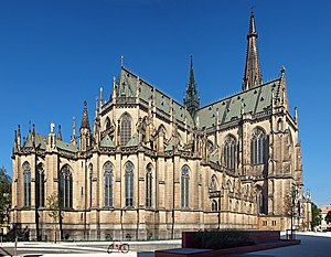 New Cathedral, Linz - Image: Linz cathedrale