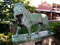 Lion sculpture, St. Mark's School, Southborough, MA - IMG 0629.JPG