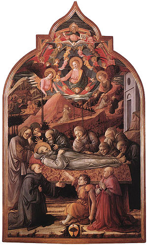 Funeral of St. Jerome (Filippo Lippi) - Image: Lippi, esequie di san girolamo