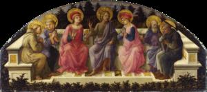 Seven Saints (Filippo Lippi) - Image: Lippi, sette santi