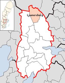 Ljusnarsberg Municipality in Örebro County.png
