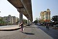 Local Main Road - Karunamoyee Area - Salt Lake City - Kolkata 2013-04-10 7707.JPG