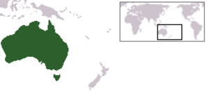 Environment of Australia - Australia is located in the Southern Hemisphere.