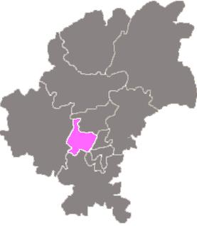 District in Guizhou, China