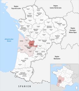 Arrondissement of Libourne Arrondissement in Nouvelle-Aquitaine, France