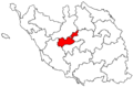 Locator map of the canton de La Roche-sur-Yon-I (in Vendée).png