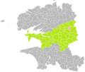 Locmaria-Berrien (Finistère) dans son Arrondissement.png