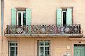 Lodève-Balcon de la Maison de Benjamin Cusson-20140627.jpg
