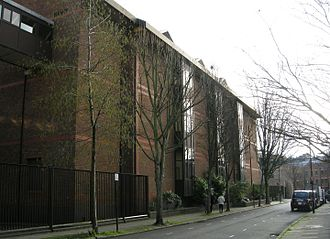 London Metropolitan Archives - 1990s repository block