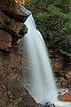 Long exposure of Douglas Falls, West Virginia (5516694164).jpg