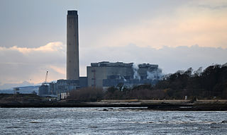 Coal-fired power station in Longannet