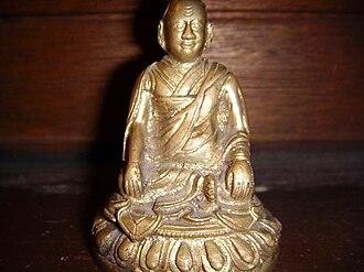 Longchenpa - Longchenpa in his meditation seat