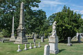 Looking NE across section C - Glenwood Cemetery - 2014-09-14.jpg