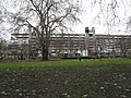 Looking from a wintry Brunswick Square Gardens towards the Brunswick Centre - geograph.org.uk - 1657693.jpg