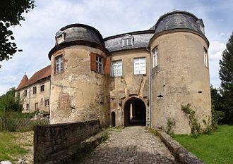 Château de Lorentzen - Site castral de Lorentzen
