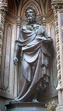 Лоренцо Гіберті. Іоанн Хреститель на фасаді Орсанмікеле ca14e62762c03