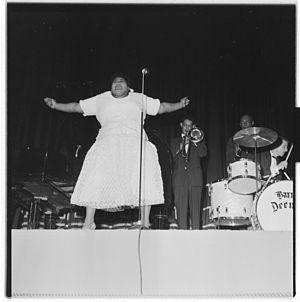 Barrett Deems - Image: Louis Armstrong til Oslo og konserter L0062 965Fo 30141701300059
