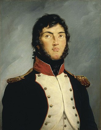 Suchet as a lieutenant colonel of the 4th battalion of the Army of the Alps, 1792 Louis Gabriel Suchet (1792).jpg