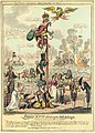 Louis XVIII Climbing the Mat de Cocagne (NAPOLEON 155).jpeg