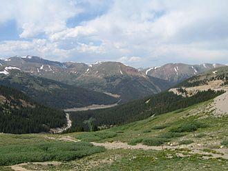 Loveland Pass - Image: Loveland Pass CO