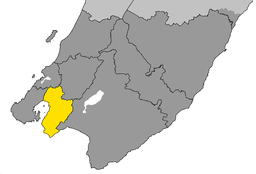 Lower Hutt City within Wellington Region.png