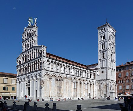 San Michele in Foro Lucca San Michele in Foro 01.jpg