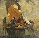 Ludwig Dill - Venezianisches Fischerboot.jpg