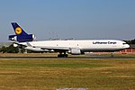 "Lufthansa Cargo McDonnell Douglas MD-11F D-ALCI ""Hello,Bonjour Canada"" (29854916025).jpg"