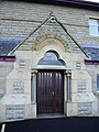 Lumb Baptist Church, Doorway - geograph.org.uk - 682389.jpg