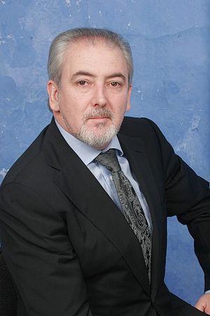 European Parliament election, 2014 (Bulgaria) - Image: Lutfi Mestan Chairman of DPS