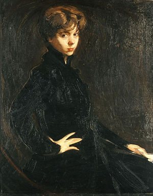 Nikolaos Lytras - Image: Lytras Nikolaos Portrait of Miss Hors