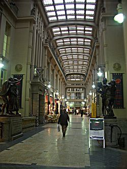 Mädler-Passage, one of Leipzig's many passageways.