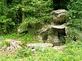 Méry-sur-Oise (95), parc du château de Méry, la rivière anglaise, grotte.jpg