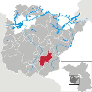 Mühlenfließ - Image: Mühlenfließ in PM
