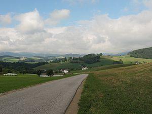 Mühlviertel - Mühlviertel scenery, Rohrbach district, Austria.