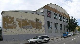 Zenith (building) - Rear view of the venue (circa 2007)