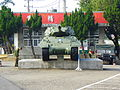 M10 Tank Destroyer Display in Hukou Camp 20111105.jpg
