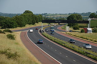 County Armagh - The M1 near Lurgan