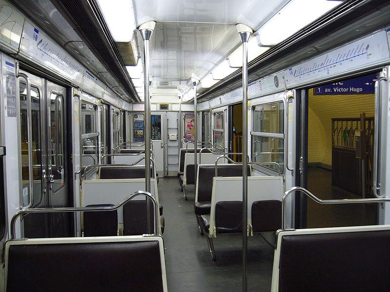 Transport mobilit urbaine afficher le for Metro interieur