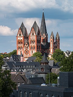 Church in Limburg, Germany