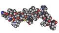 MMDB ID 29295 PDB ID 1R02 Structure Of Human Orexin-A.png