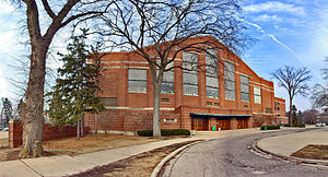 Jenison Fieldhouse - Image: MSU Jenison Fieldhouse March 2006
