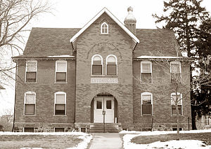 History of Michigan State University - Cook Hall in 2005