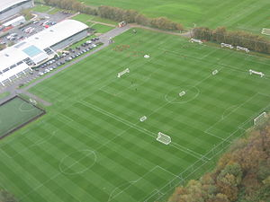 Trafford Training Centre - Image: MUFC training ground Carrington