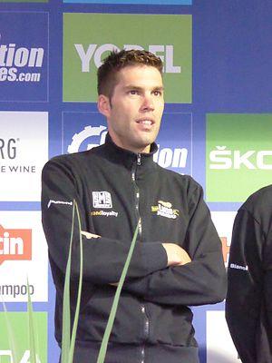 Maarten Wynants - Wynants at the 2016 Tour of Britain