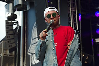 Mac Miller - Miller performing at the Splash! Festival 2017 in Germany.