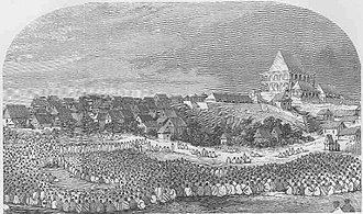 History of Madagascar - Madagascar—Gathering of The People for The Making of Laws (LMS, 1869, p.52)