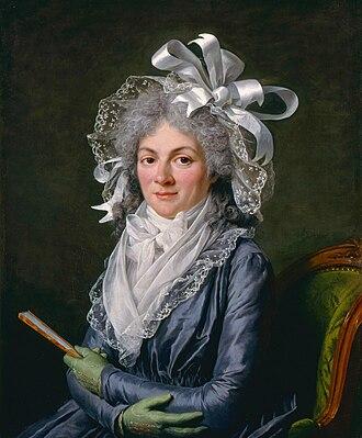 Stéphanie Félicité, comtesse de Genlis - Portrait of Madame de Genlis (1746–1830), by Adélaïde Labille-Guiard