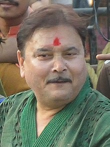 Madan Mitra - Durga Idol Immersion Celebration - Baja Kadamtala Ghat - Kolkata 2012-10-24 1670.JPG